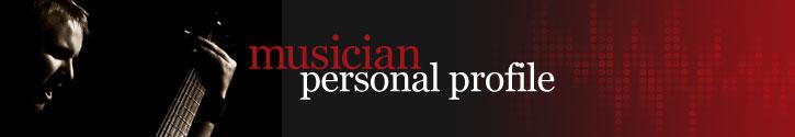 musician personal profile